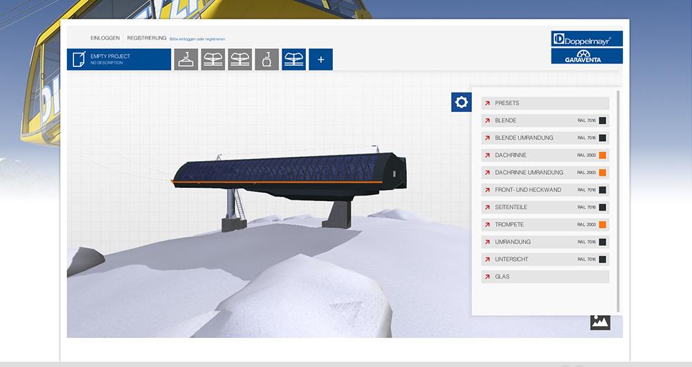 Doppelmayr Konfigurator Animations More 3d Visualisierungen